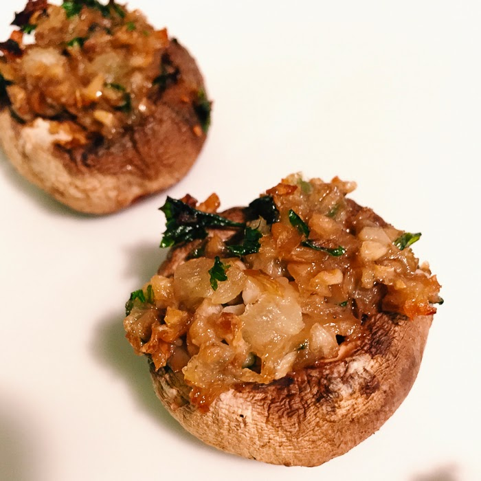 vegan stuffed mushroom recipe