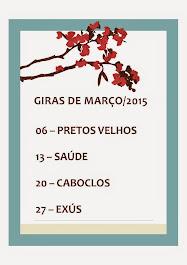 Giras Março
