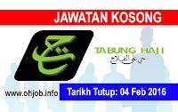 Jawatan Kerja Kosong Lembaga Tabung Haji (TH) logo www.ohjob.info februari 2016