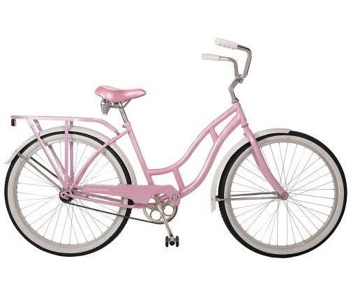 A Little Loveliness Pink Bicycle Pedal Pushing Products