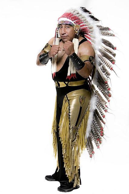 Gran Apache - AAA Luchador