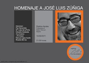 Recital homenaje a J.L. Zúñiga.Septiembre 2011
