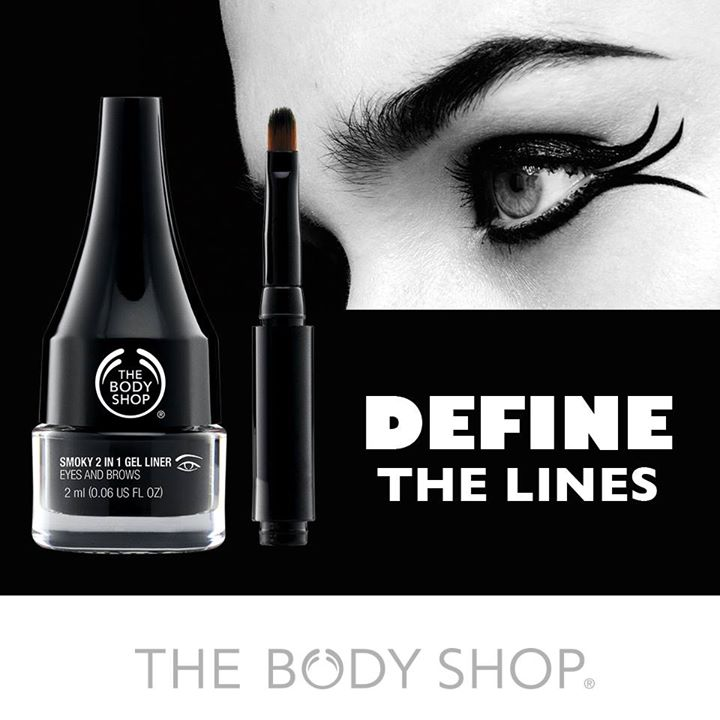 The Body Shop Smoky 2 in 1 Gel Eye Liner