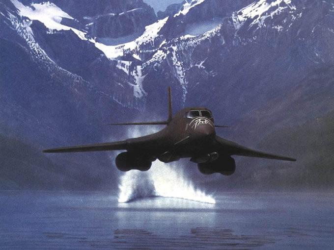 B-1B Bomber B1 Lancer Supersonic