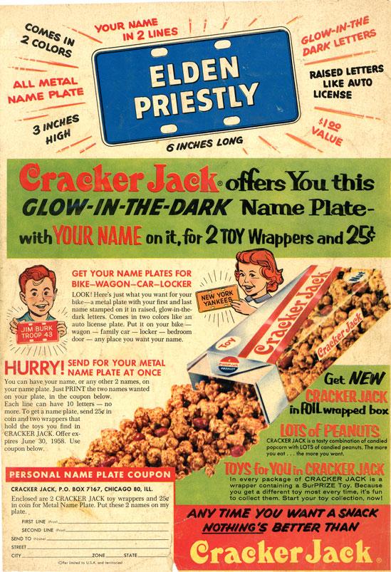 Image Result For Cracker Jack Meaning