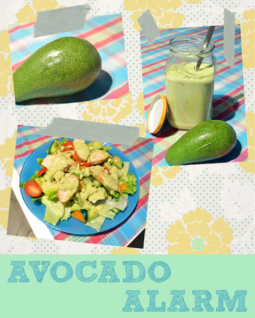 Avocado-Buttermilch-Dressing