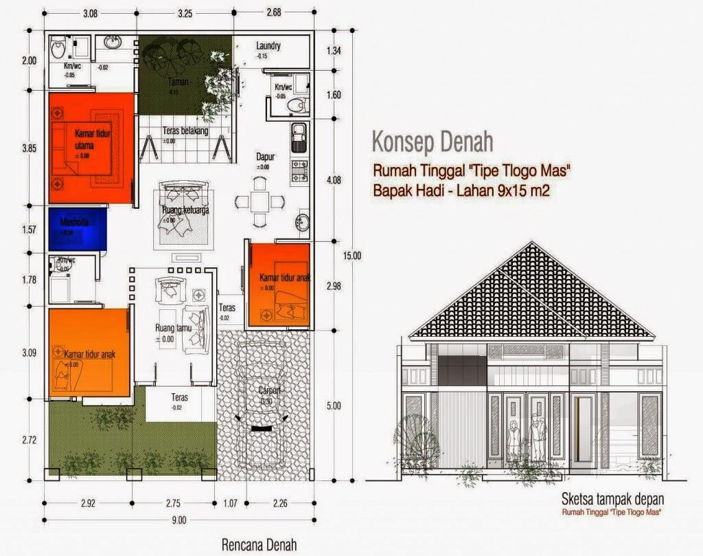 Desain Rumah Minimalis 10 X 15 Foto Desain Rumah Terbaru 2016