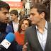 """Un joven, a Rivera: """"Cuando pactes con el PP sacarás a la luz tus medidas económicas"""""""