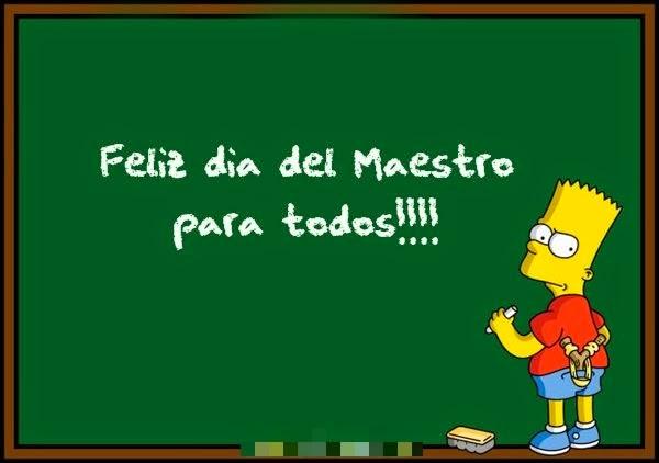 Feliz Dia del Maestro, parte 3