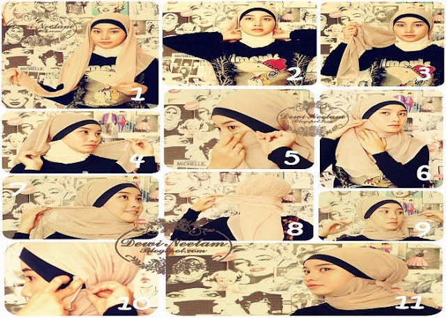 Cara Memakai Jilbab dengan Mudah