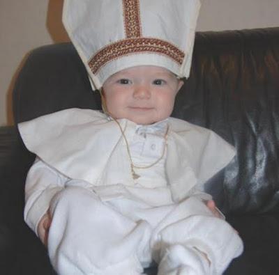 disfraz de pontifice para niño