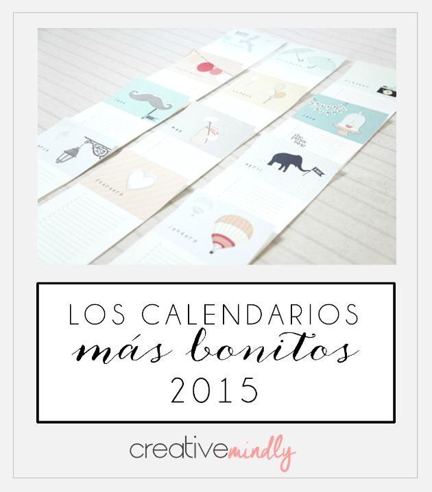 DESCARGAR CALENDARIOS 2015 BONITOS