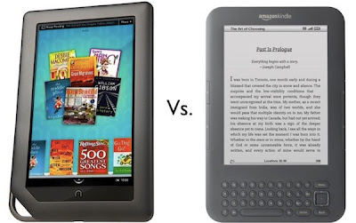 e-readers - Amazon kindle & Nook