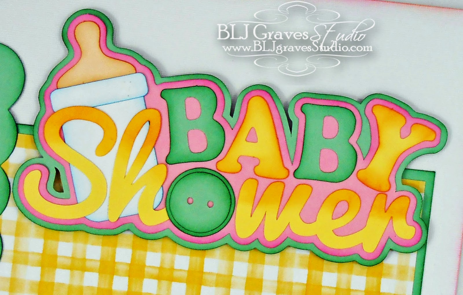 Blj Graves Studio Baby Shower Single Page Layout