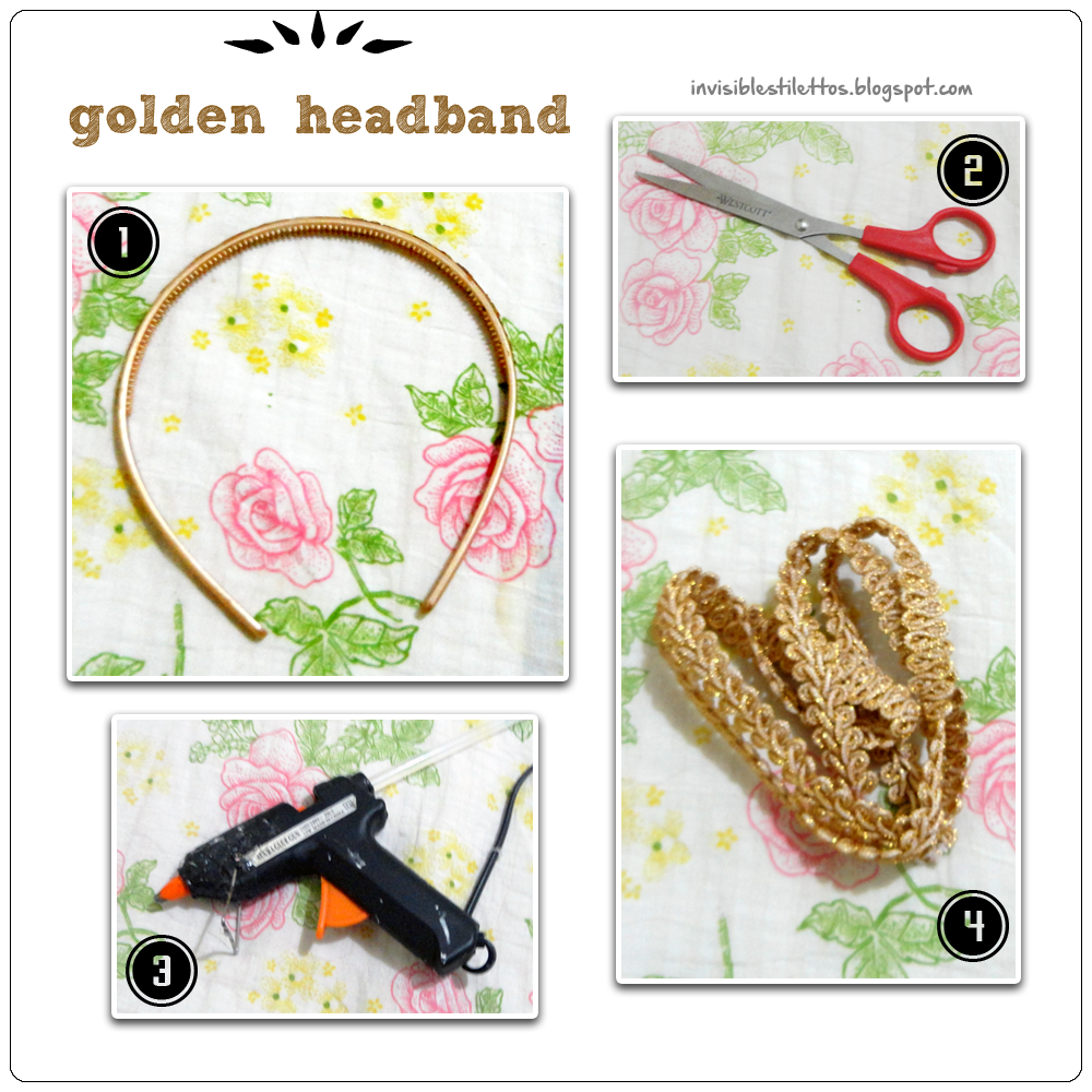 Golden Headband
