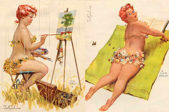 Hilda - a gordinha de Duane Bryers - 03
