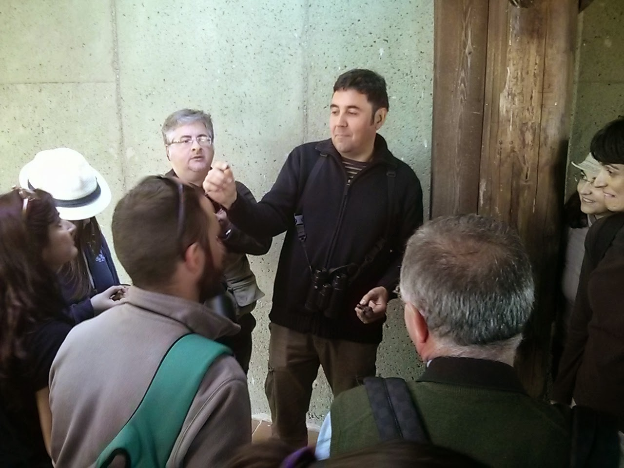 XV Curso de Iniciación a la Ornitología, Edición 2015. Organiza el Grupo Local SEO-Sevilla de SEO/BirdLife. Excursión.