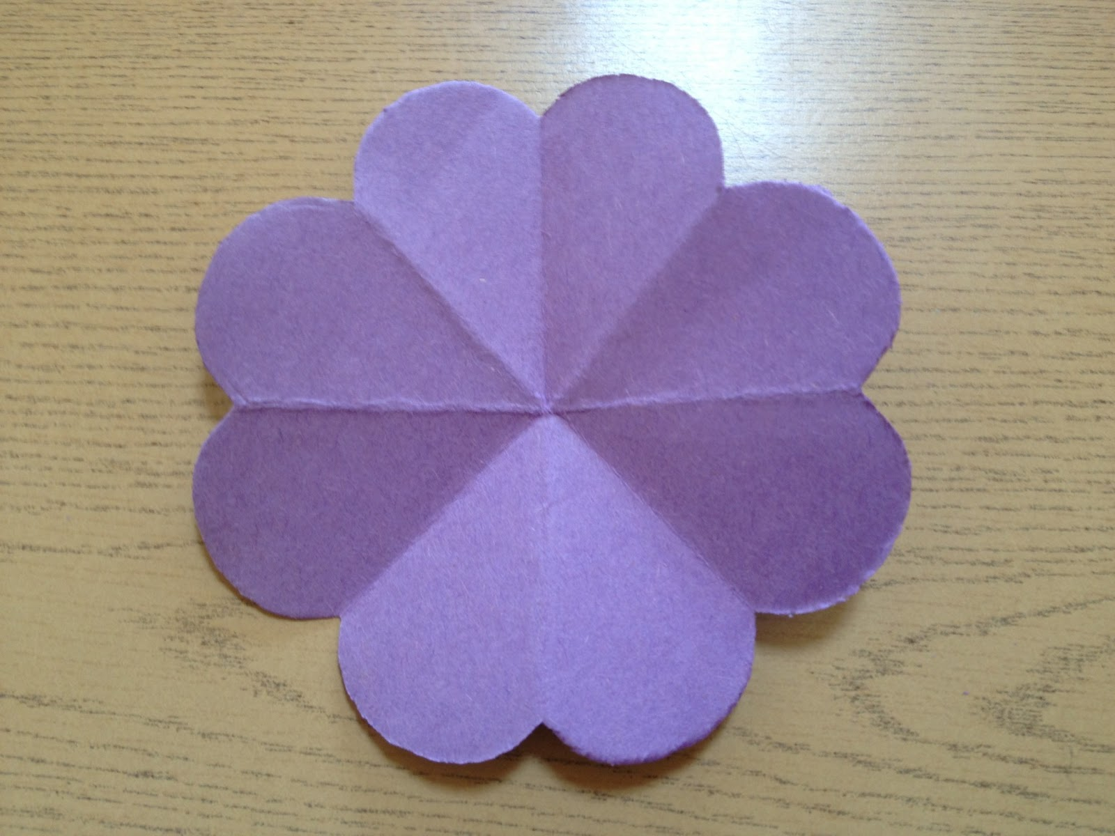 Evergreen Montessori House Cut Paper Flowers