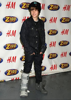 best images justin beiber in fashion show