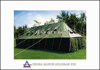 Pabrik, Tempat, Produksi, Tenda Dapur Militer TNI