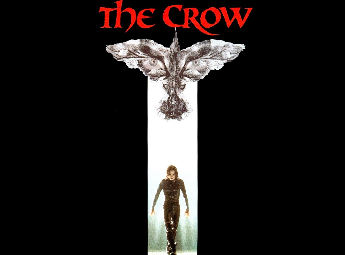 Brandon Lee's last movie, comic book adaptation of James O'Barr's The Crow