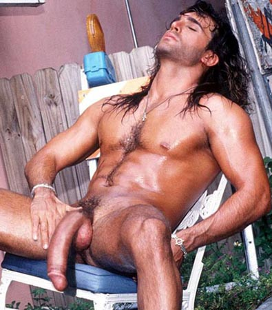 Erotic photo naked male long hair