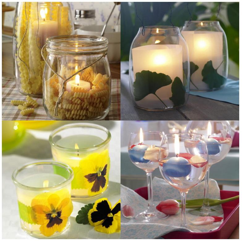Cosas de palmichula buenas ideas decoracion original con for Decoracion del hogar con velas