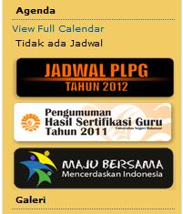 menu website pengumuman plpg www unm ac id