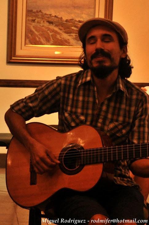 Chano Martinez musico invitado