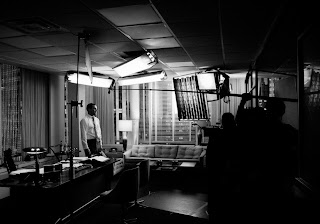Behind the scenes Photos of Mad Men Don Draper James Minchin