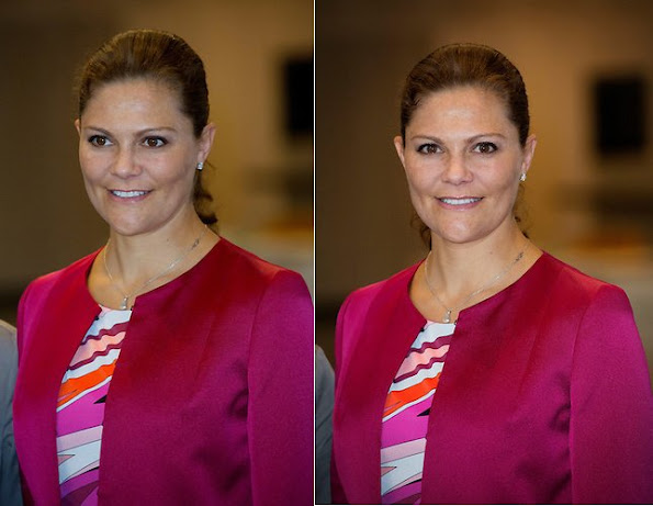Crown Princess Victoria of Sweden attended the 10th anniversary of the European Centre for Disease Prevention and Control (ECDC)
