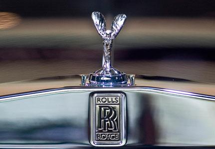 Rolls royce mascot