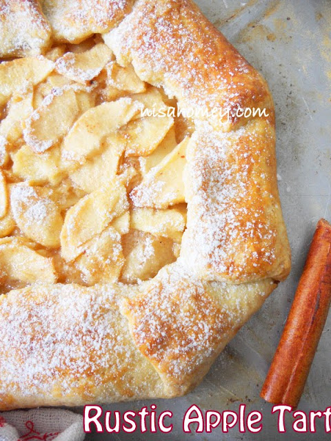 Rustic Apple Tart With Apple Glaze | Cooking Is Easy