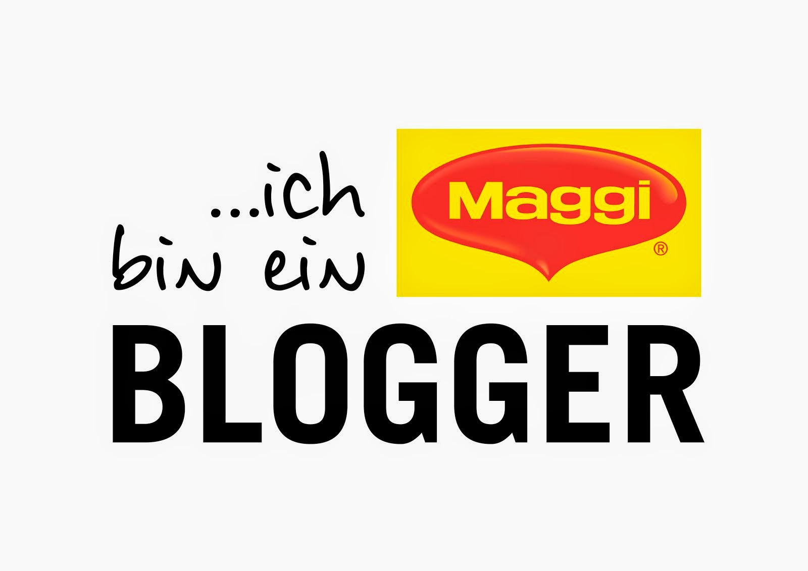 Ich bin ein Maggi Blogger