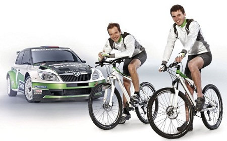Skoda to launch 2012 range of bicycles in racing trim