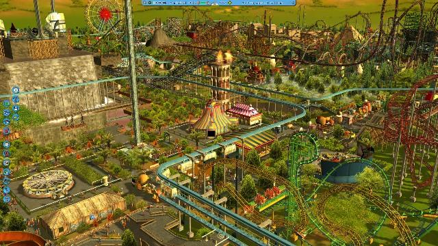 Roller Coaster Tycoon Features