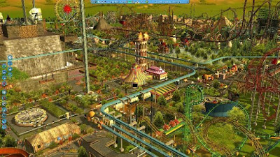 RollerCoaster Tycoon 3 PC Games windows