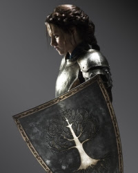 Snow White and the Huntsman 2 film starring Kristen Stewart and Chris Hemsworth.
