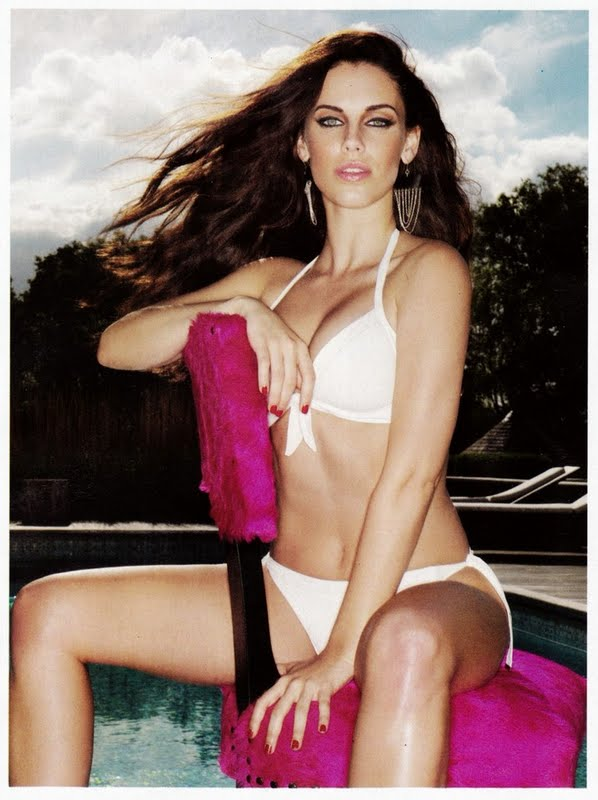 Jessica Lowndes in Lingerie