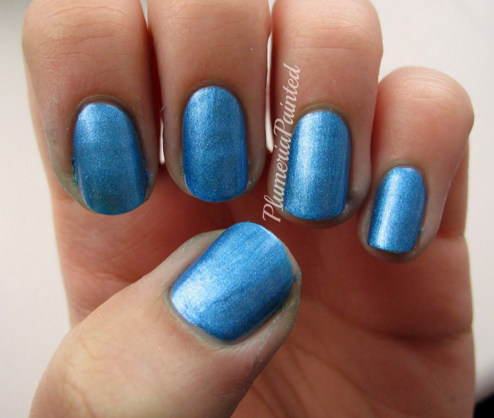 PlumeriaPainted: Blue Nails: Spa Ritual - Navigate