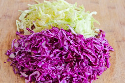 Kitchen®: Thai-Style Spicy Cabbage Slaw with Mint and Cilantro