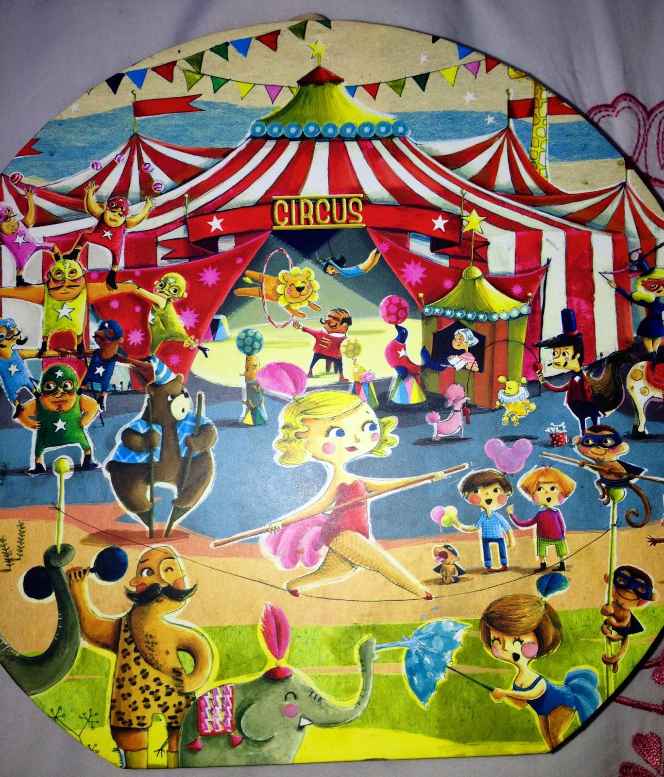 Puzzle circus 54 pièces