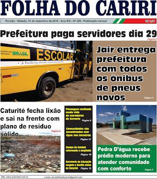 FOLHA DO CARIRI