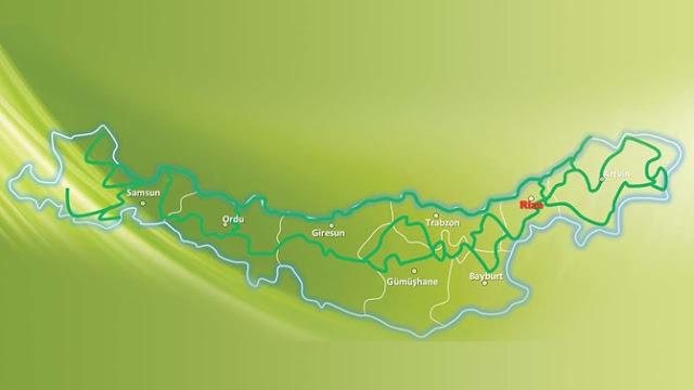 Yeşil Yol Projesi Güzergahı