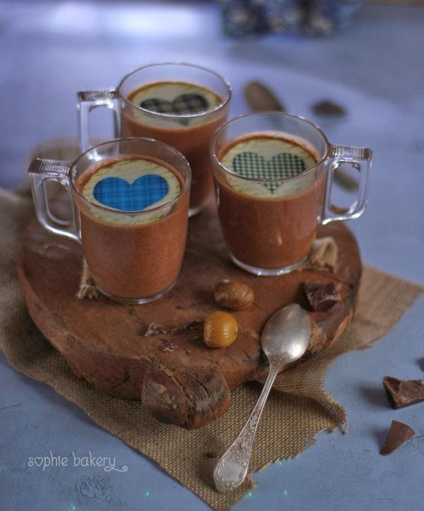Pots de chocolate y castañas