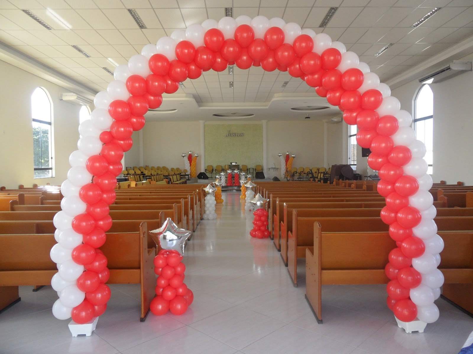 Bete Kids Decoraç u00e3o com Balões Igreja Congresso Infantil -> Decoração De Igreja Evangelica Para Congresso Infantil