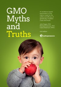 Image of the cover of GMO Myths and Truths