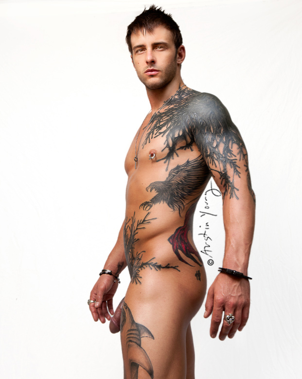 """Showtime's """"Gigolos"""" star Nick Hawk Poses Naked For Playgirl magazine"""