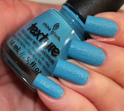 China Glaze Textures - Of Coarse!