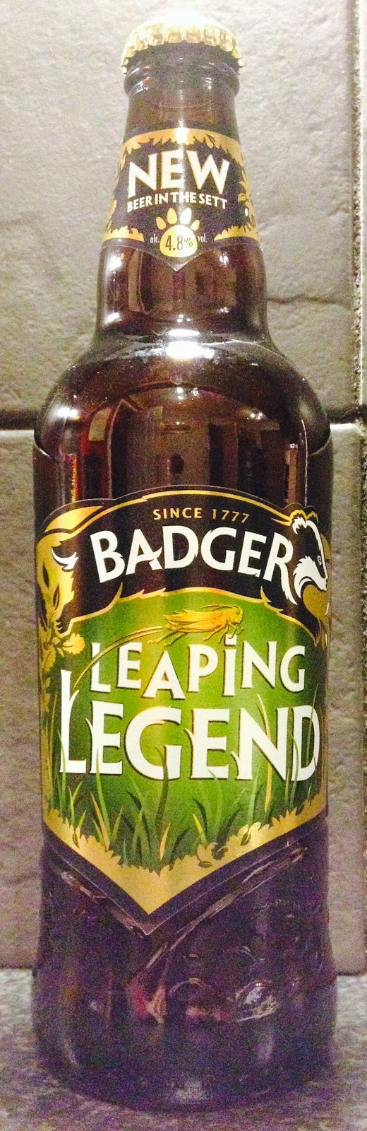 Leaping Legend (Badger)